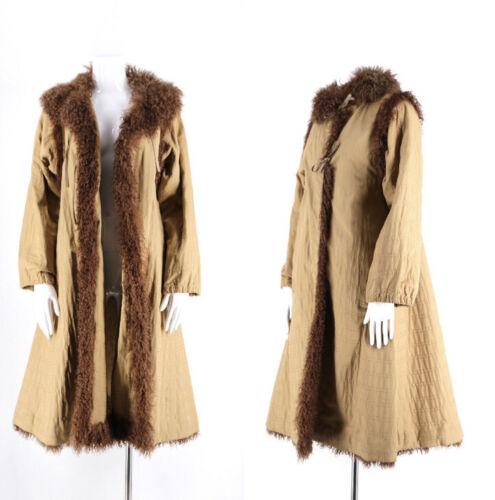 Fendi Coat with Mongolian Fur Tirm