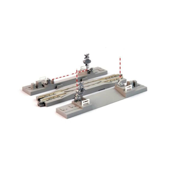KATO N gauge railroad crossing line # 2 124mm 20-027 model railroad supplies