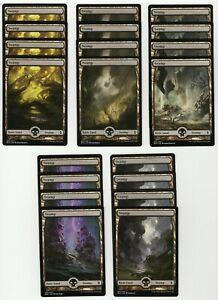 20x SWAMP Full Art Basic Land NM/LP MTG Magic the Gathering Battle For Zendikar