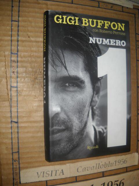 LIBRO - NUMERO 1 - BIOGRAFICO DI BUFFON - PERRONE - 1^ED. RIZZOLI 2008 -NUOVO MA