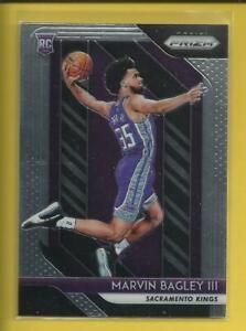 Marvin-Bagley-RC-2018-19-Panini-Prizm-Rookie-Card-181-Sacramento-Kings-NBA