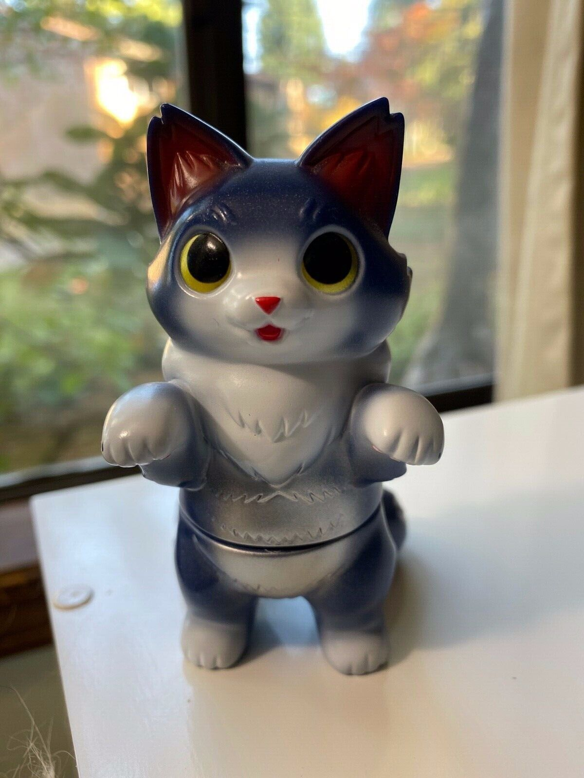 Fluffy Negora Winter Konatsuya Konatsu Vinyl Cat Figure
