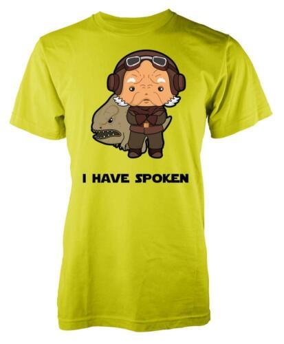 I Have Spoken Kuiil Blurrg Bounty Hunter Boba Fett Adult T Shirt