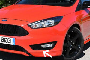 Details About Ford Focus Zetec S Sport Front Bumper Fog Light Honeycomb Grille 2015 2018