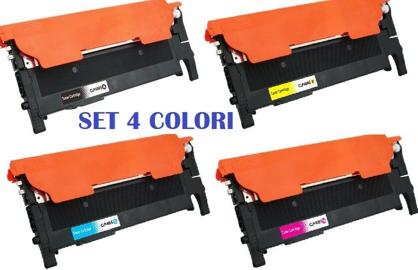 CHIP BLACK PER SAMSUNG clx-3300 clx-3305-fw clx-3305-fn Xpress c-410-w Polvere