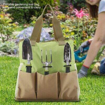 Waterproof Canvas Gardening Tool Bag, Canvas Garden Tool Bag