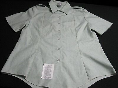 AG 415 US Army Women/'s Short Sleeve Tuck In Dress Shirts