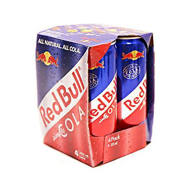 Red Bull Cola 4 Dosen no Energy Drink ProbePack je 355ml. MHD 2019