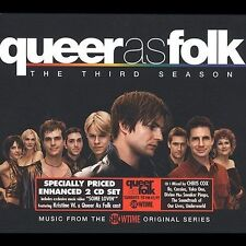 Queer as Folk: The Third Season by Original Soundtrack (CD, May-2003, 2 Discs, T