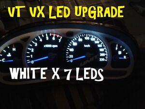 VT-VX-VU-WH-WHITE-LED-Dash-ODO-Fits-Berlina-Calais-Statesman