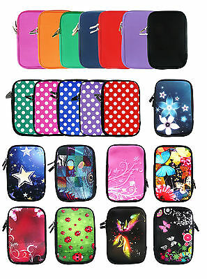 "Stylish Neoprene Sleeve Zip Case Cover Pouch fits various  7"" Inch Tablets"