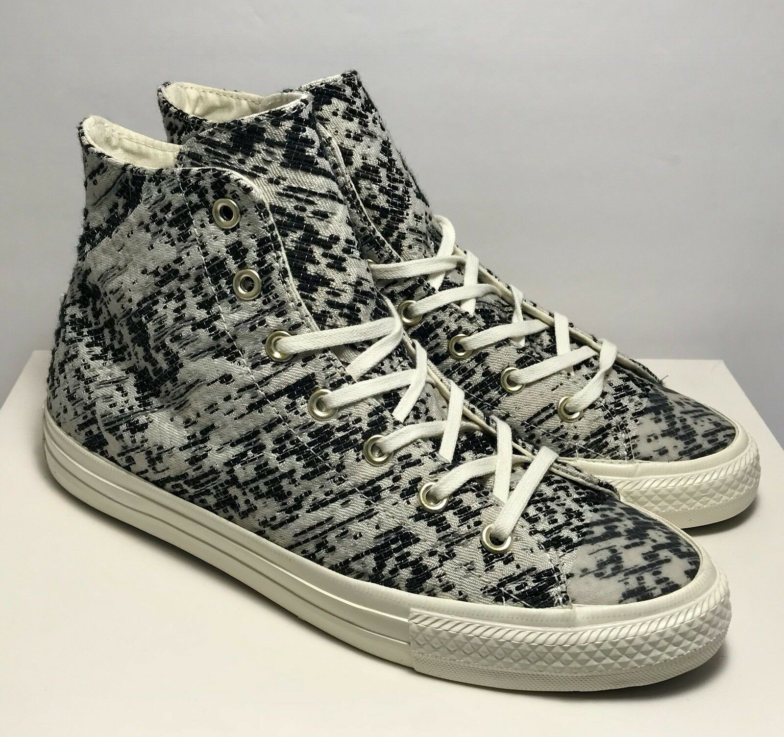 Converse Womens Size 10 Gemma Chuck Taylor All Star Gemma 10 Knit Oreo Shoes Sneakers 1569d0