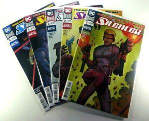 DC-Comics-SILENCER-2018-1-2-3-4-5-Key-1st-APPEARANCE-Run-NM-9-4-Ships-FREE