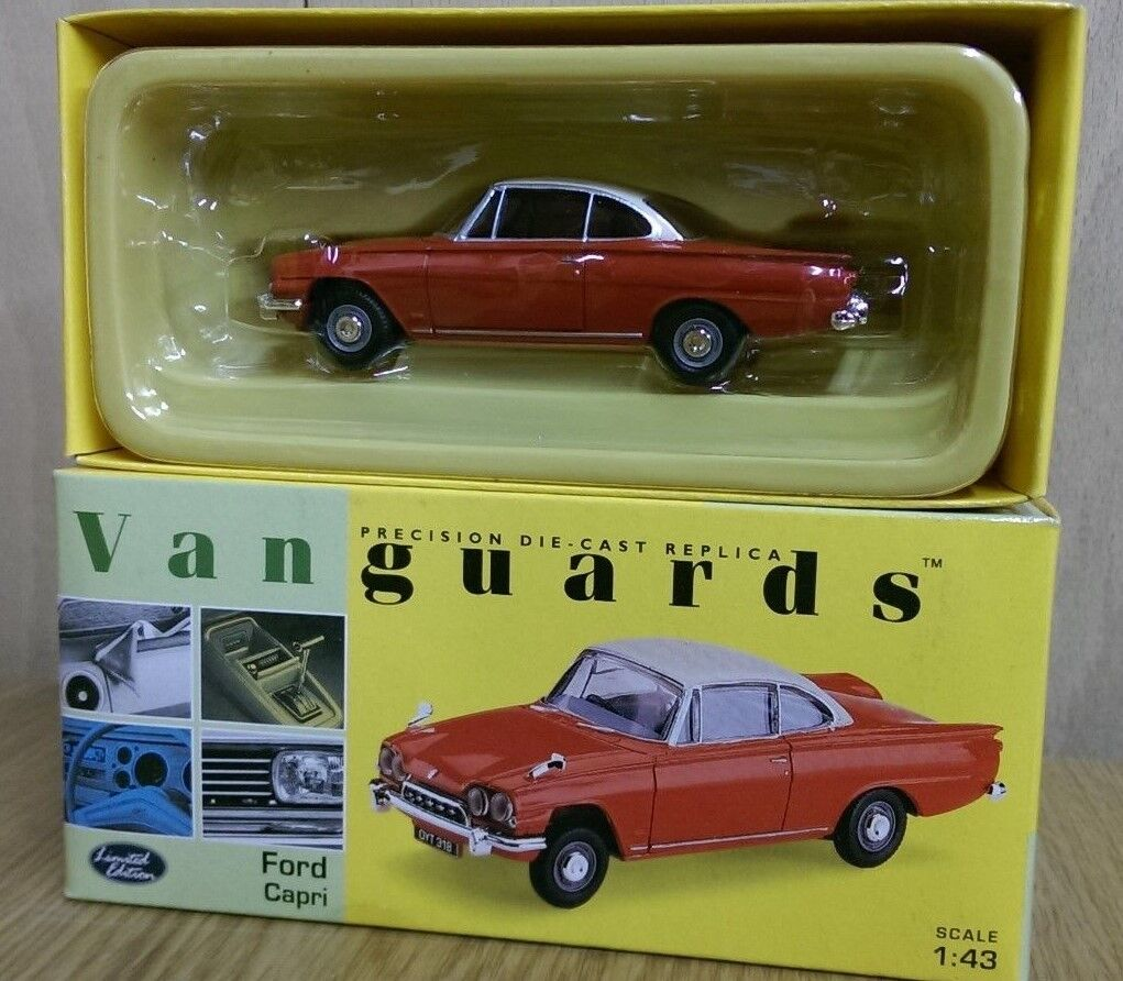Corgi VA34004 Ford Classic Capri Monaco Red Ermine White Ltd Ed No. 0005 of 5500