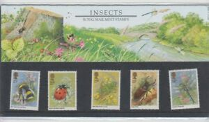 GB-1985-INSECTS-PRESENTATION-PACK-No-160-Royal-Mail-Mint-Stamps