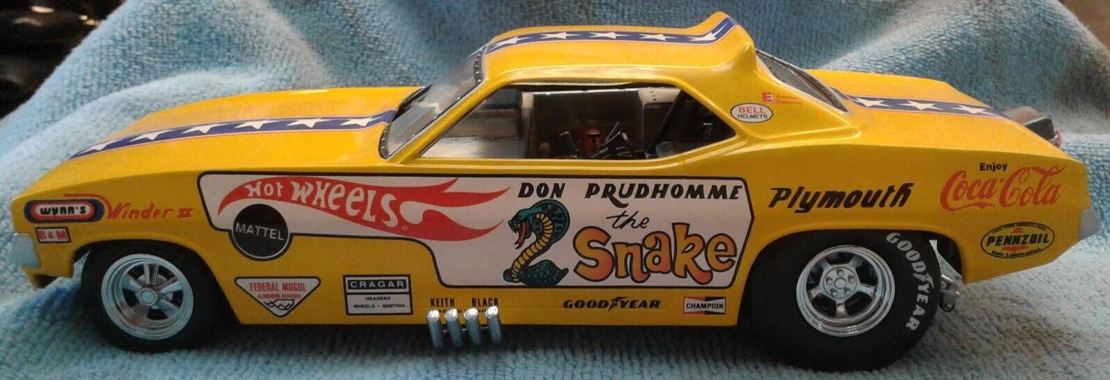 heta hjul Don the Snake Prudhomme 1 24
