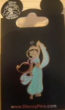 Disney Princess- Jasmine- Glitter Outfit Pin (Aladdin) - New on Card