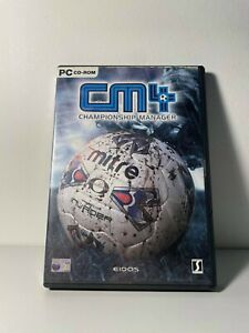 CM4: Championship Manager (PC CD, Game)