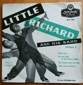 039-LITTLE-RICHARD-AND-HIS-BAND-VOL-5-039-1957-LONDON-EP-TRI-VG-VG