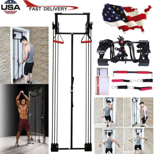 NEW Body By Jake PRO Full Gym Fitness Workout Free Straight Bar US