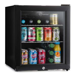 Subcold Super 50 LED Black   Mini Fridge   UK's Top Selling Beer Fridge