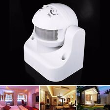 220V Adjustable PIR Infrared Human Body Motion Sensor Intelligent Light Switch