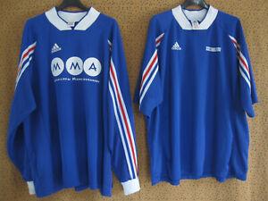 Détails sur Lot 2 maillot Equipe France Porté Adidas Football vintage XL