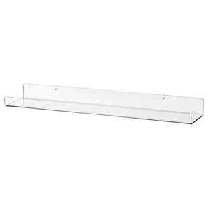 IKEA Picture Ledge Floating Shelf 60cm Wall Photo Frame Book Acrylic Display