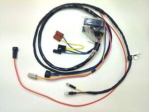 1968 68 chevelle el camino engine wiring harness warning lights hei rh ebay com 1972 el camino wiring harness 1972 el camino wiring harness