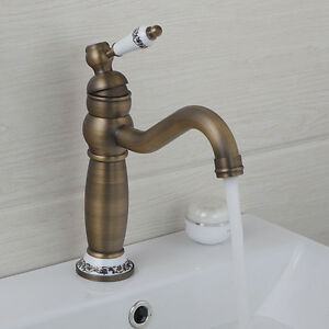 Image Is Loading Us Bathroom Basin Faucet Hot Cold Mixer Tap