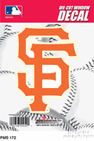 San Francisco Giants Sf Logo 5 Vinyl Die Cut Decal Sticker Emblem Mlb Basebal