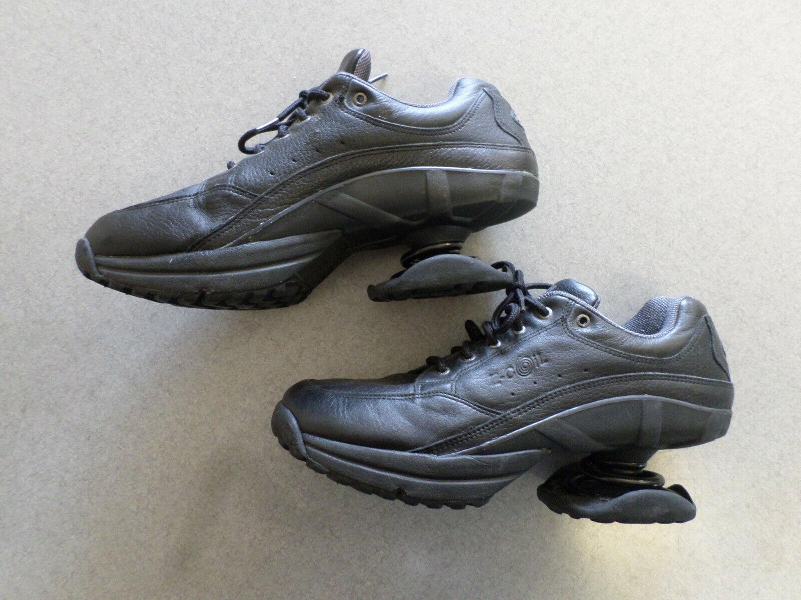 Z-COIL Freedom Classic nero Leather Lace Up, Walking Spring scarpe. scarpe. scarpe. Uomo 12 c6e6ae