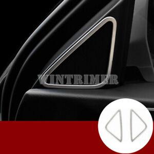 For-Audi-Q3-8U-Interior-Front-Pillar-Audio-Speaker-Frame-Cover-Trim-2012-2017
