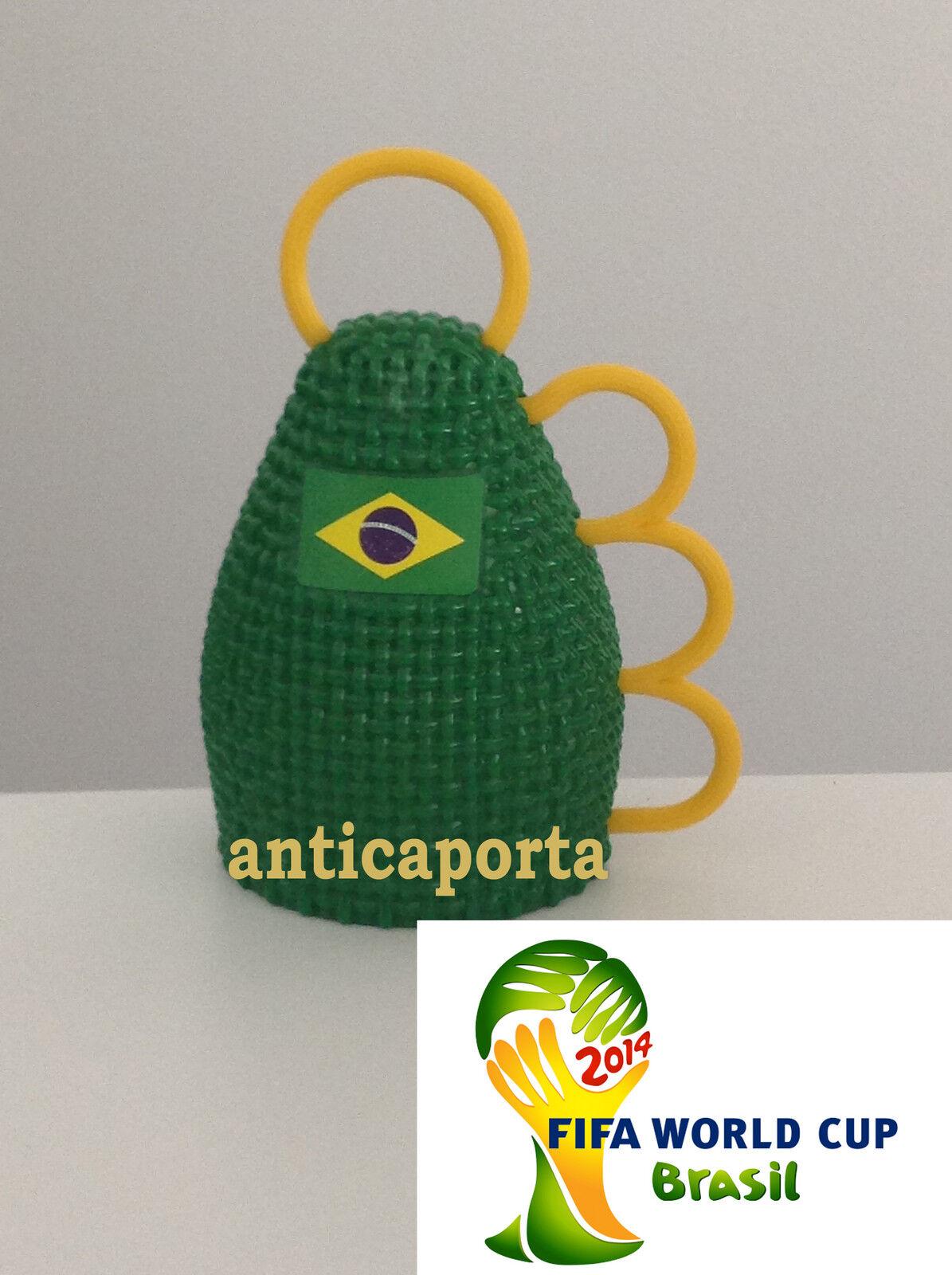 8 Caxirola Mundo  Brasil 2014 Amarillo Cocheacas Vuvuzela Mundo Cup Brasil Belle  precio razonable