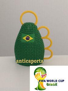 Caxirola-Mondiali-Brasile-2014-Gialla-Brasile-Neymar-Hulk-Dani-Alves-Brazil