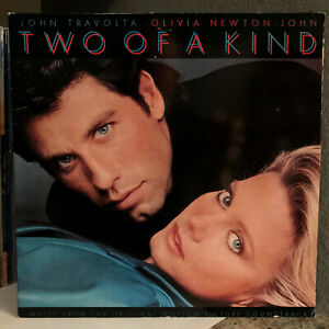 TWO-OF-A-KIND-Movie-Soundtrack-Olivia-Newton-John-12-034-Vinyl-Record-LP-EX
