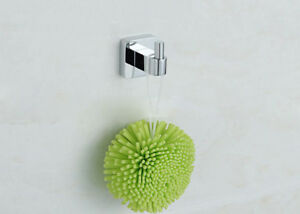 Brass Wall Single Hook Hanger Bathroom Towel Bath Accessory Holder Rose Gold Y10