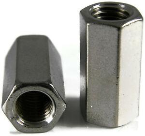 "3//4/""-10 Stainless Steel Threaded Rod Coupling Quantity of 1"