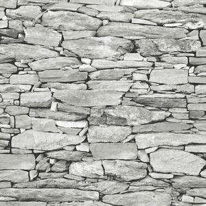 light grey stone wallpaper realistic 3d effect natural
