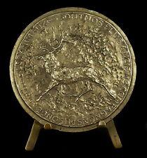 Médaille Frédéric Rossif Réalisateur De Nuremberg à Nuremberg animal Deer Medal