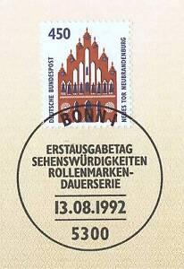 à Condition De Rfa 1992: Neubrandenburg Nouveau Portail! Swk Nº 1623 Avec Bonner Cachet Spécial! 1a!-afficher Le Titre D'origine