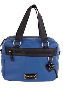 GUESS-Luxe-Damen-Handtasche-Shopper-Blau-GU122A