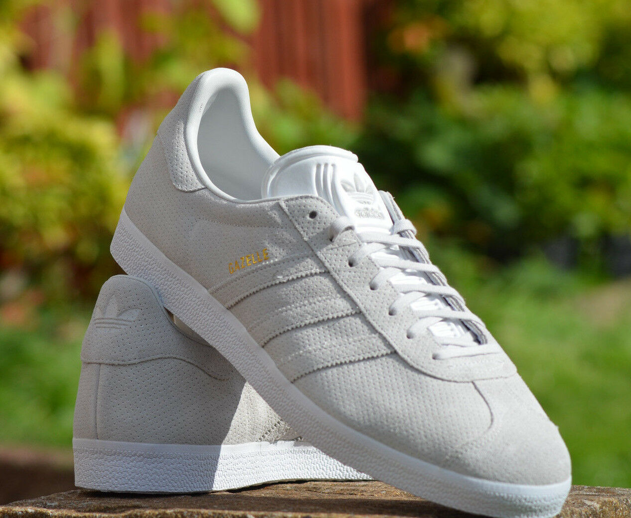 Adidas Originals UK mens Leder Gazelle Schuhes UK Originals 13,5 be309e