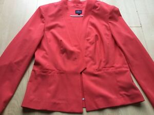 And 14 Marks Women Spencer Jacket Coral Taille zxwqp4Bv