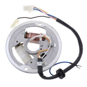 Details about Magneto Ignition Coil Stator for Yamaha PW80 Motorcycle  Motorcycle Scooter
