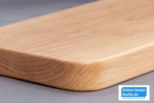 rebord de fenêtre bois le Bouleau Massif 20 cm Profond 80-84 cm long 179,38 €//m