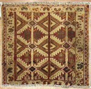 Tremendous-Tekke-1940s-Antique-Persian-Turkmen-Yamout-Rug-1-9-x-1-11-ft