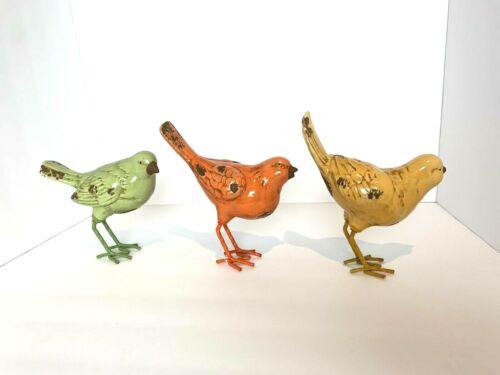 """Home Decor 6/"""" Spring Birds Set Of 3"""