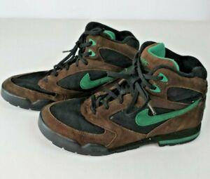 f2e8cf7cb5b26 VTG 90s Nike Hiking Boots Men's Sz 7.5 Brown Green Athletic Trail ...