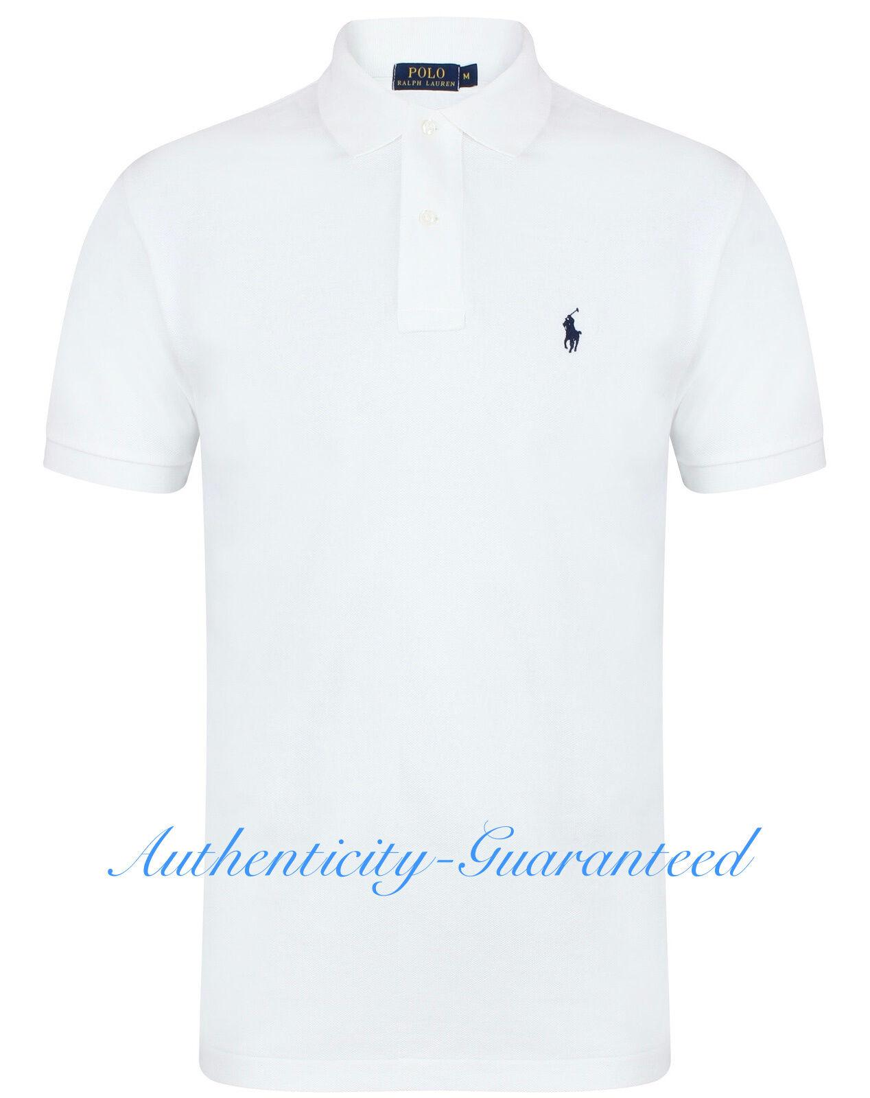 Ralph Lauren  Herren Classic Fit Short Sleeve Polo Shirt All Colours   BNWT